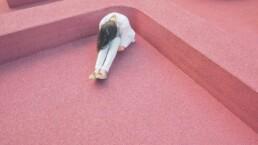 Tricks gegen Angst und Depression in der Corona Pandemie - Verzweifelte Frau